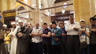 Sholat Jenazah untuk Fatihatun Nahdliyah di al-Azhar Mesir